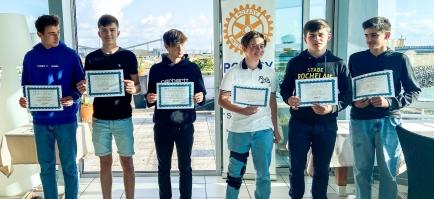 Remise du Prix Courage à 6 jeunes Rochelais...
